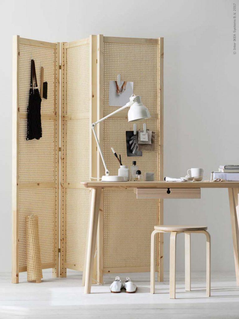 DIY IKEA IVAR kamerscherm