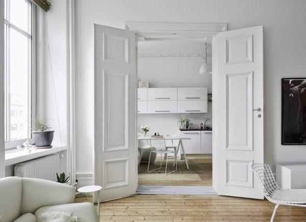 Dubbele deuren keuken