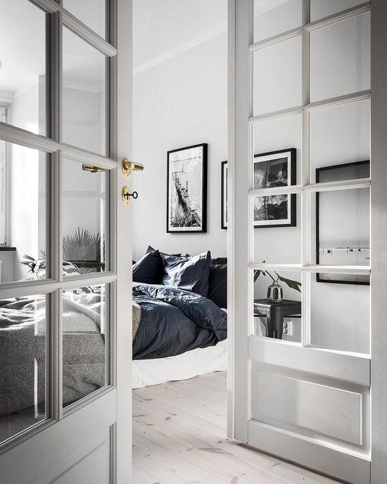 Dubbele deuren slaapkamer