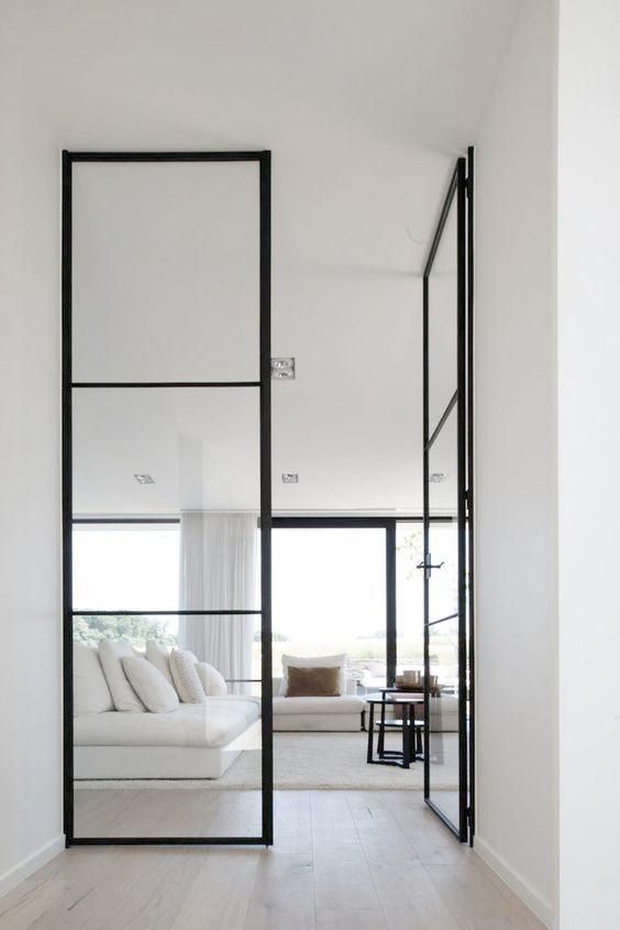 Dubbele deuren staal