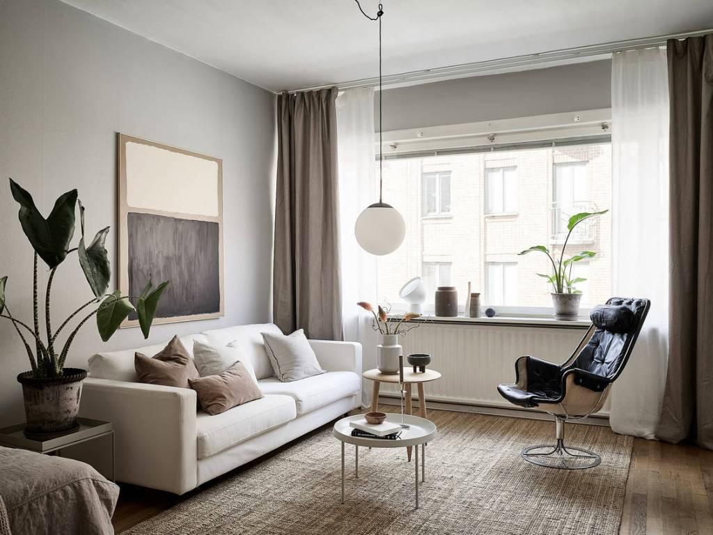 duurzame gordijnen woonkamer