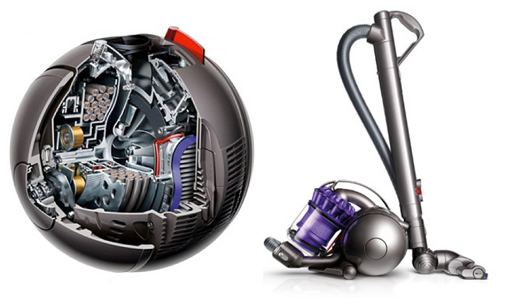 dyson stofzuigers ball-technologie