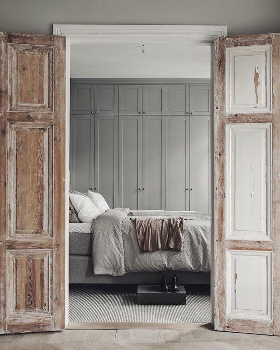 Mooie dubbele deuren