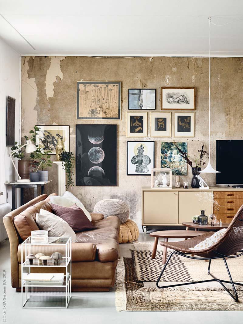 eclectisch ikea interieur