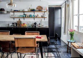 eclectisch-interieur-keuken