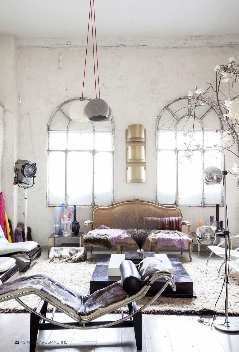 Eclectische woning uit Madrid