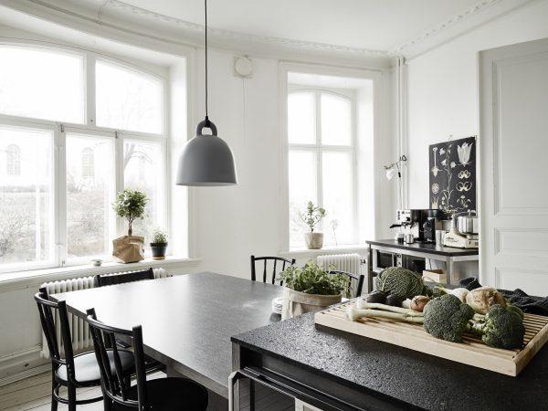 Eigentijds Scandinavisch appartement