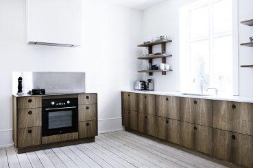 Eiken houten keuken