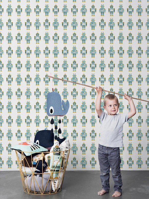 Ferm Living behang voor de kinderkamer
