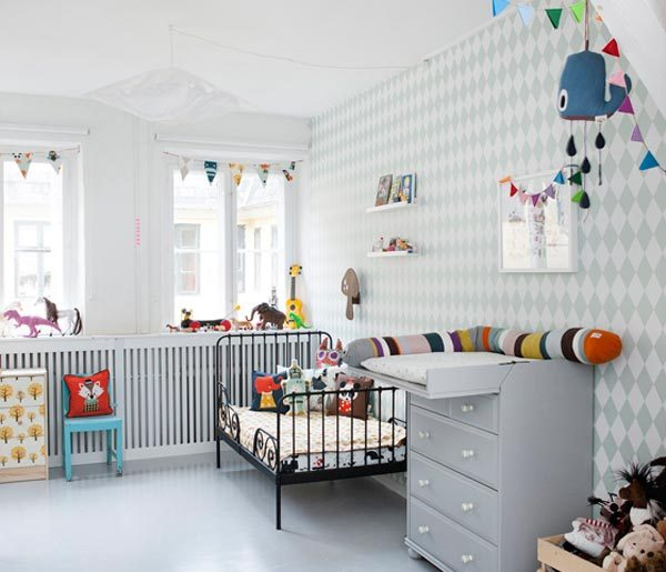 Behang Kinderkamer Scandinavisch : ? kinderkamer inspiratie ferm ...