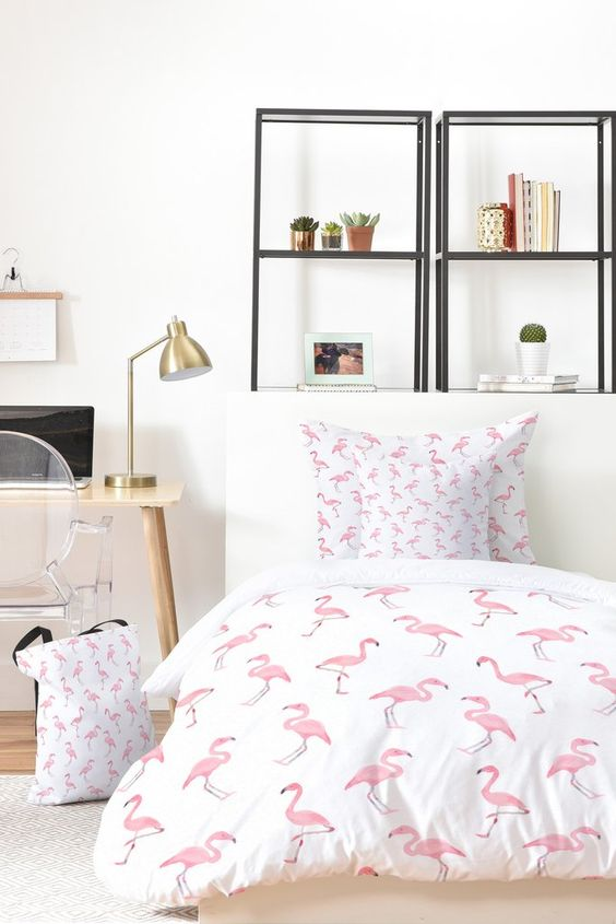 flamingo-dekbed
