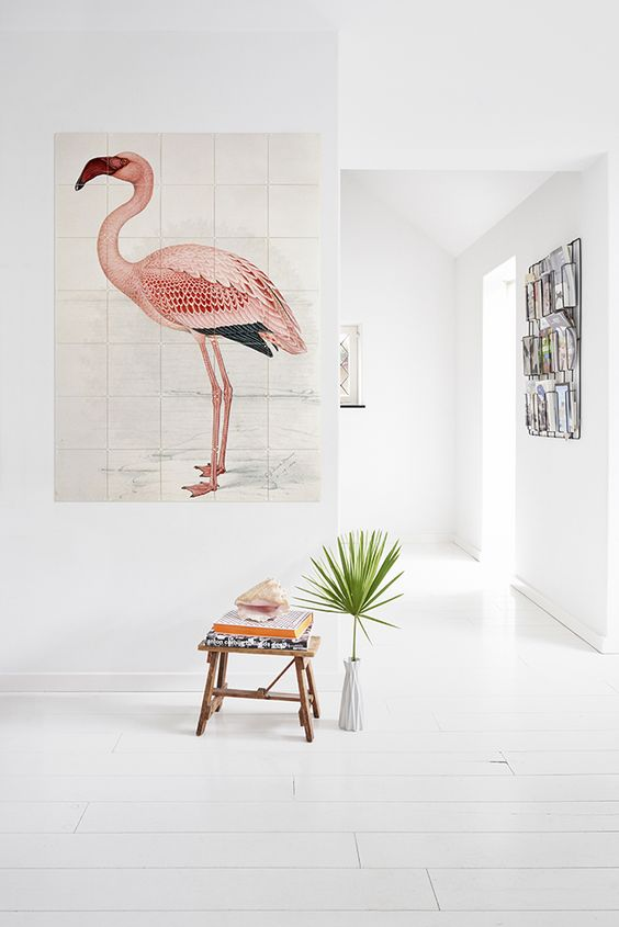 flamingo-kunstwerk