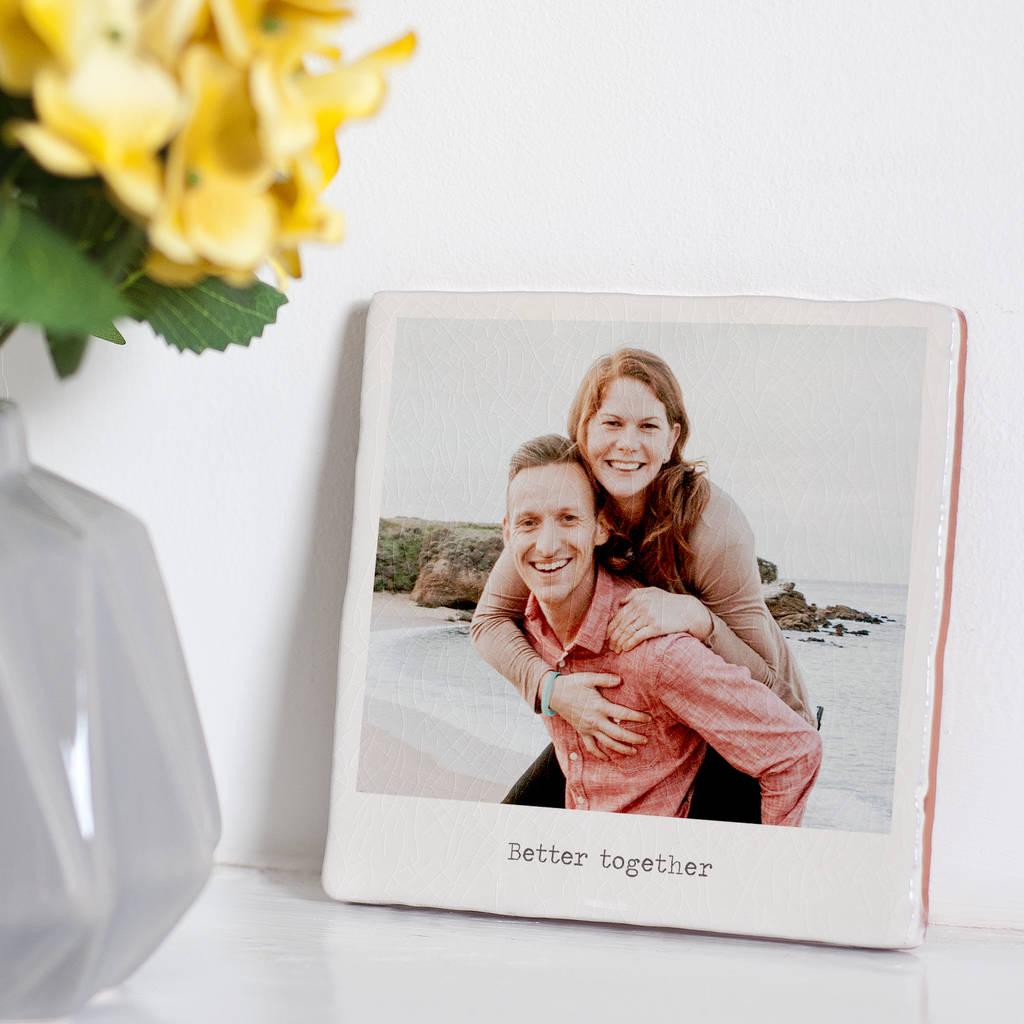 Foto drukken op tegel