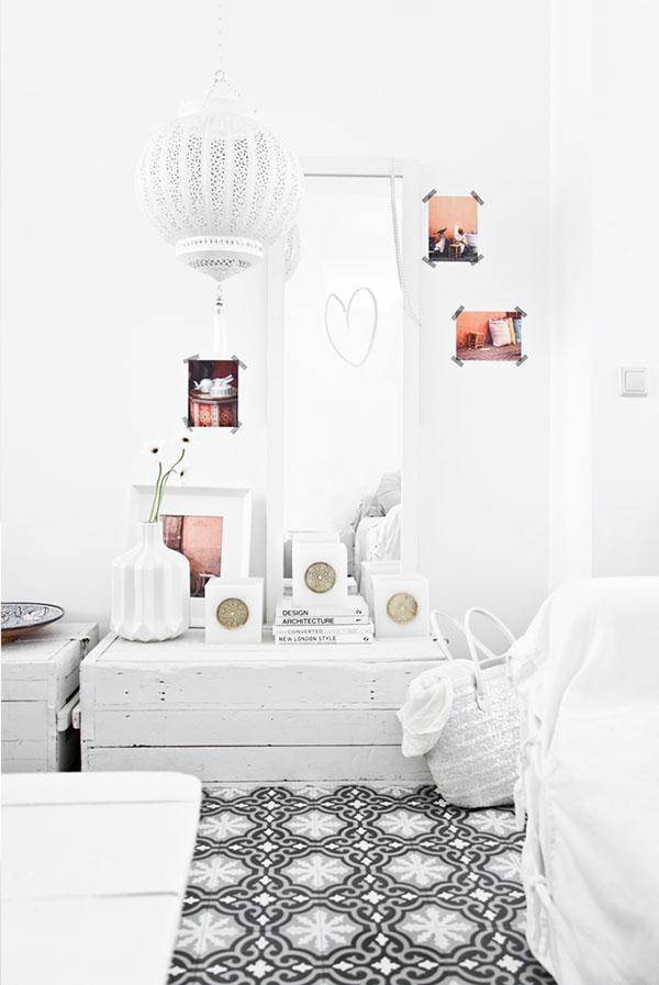 frisse marokkaanse slaapkamer | homease, Deco ideeën