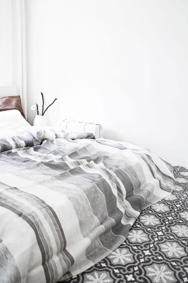 Frisse Marokkaanse slaapkamer