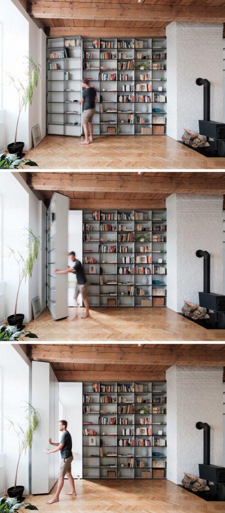 Geheime deur in huis
