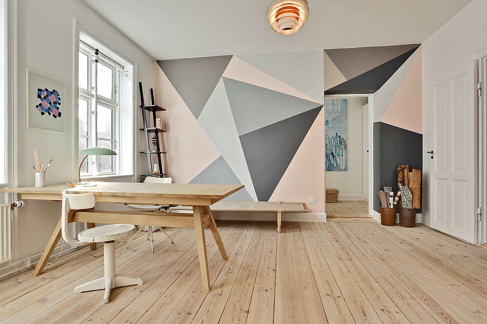 Geometrische muren