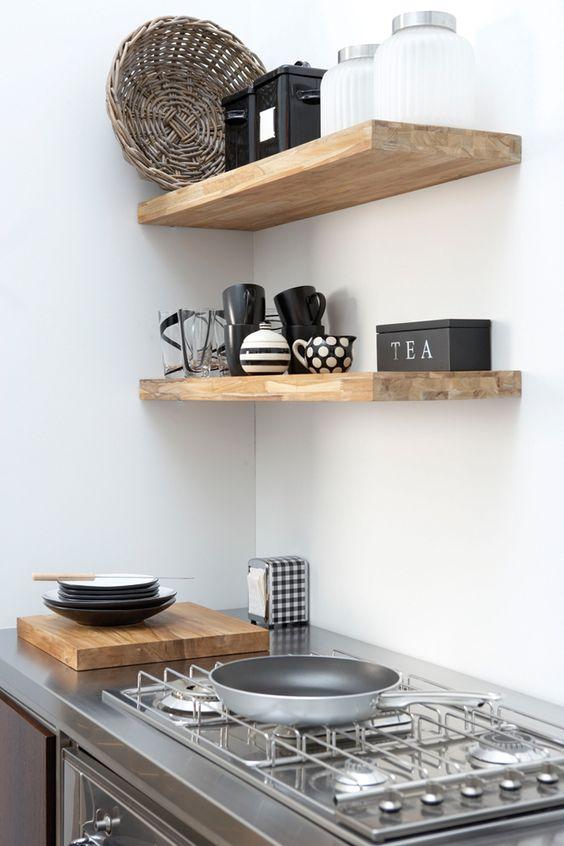Gestucte keuken achterwand