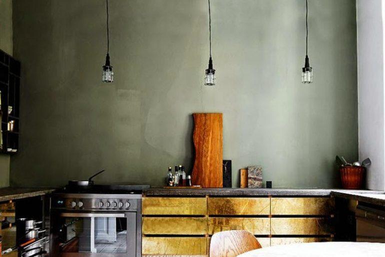 Achterwand Voor Keuken : Gestucte keuken achterwand homease