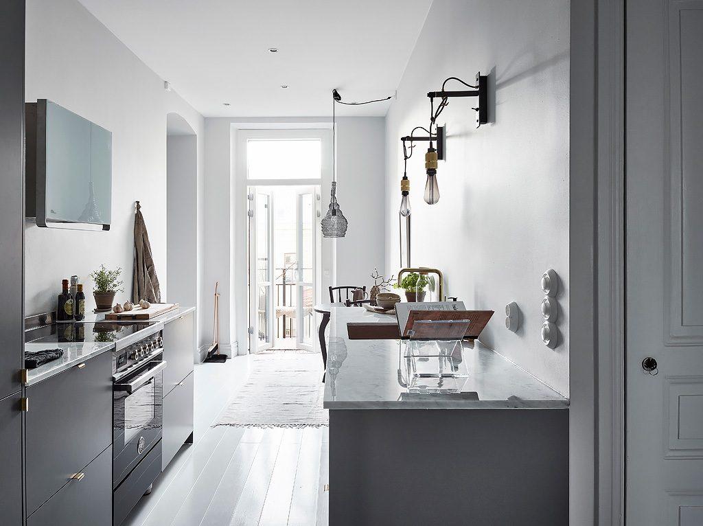 gestuukte-keukenwand