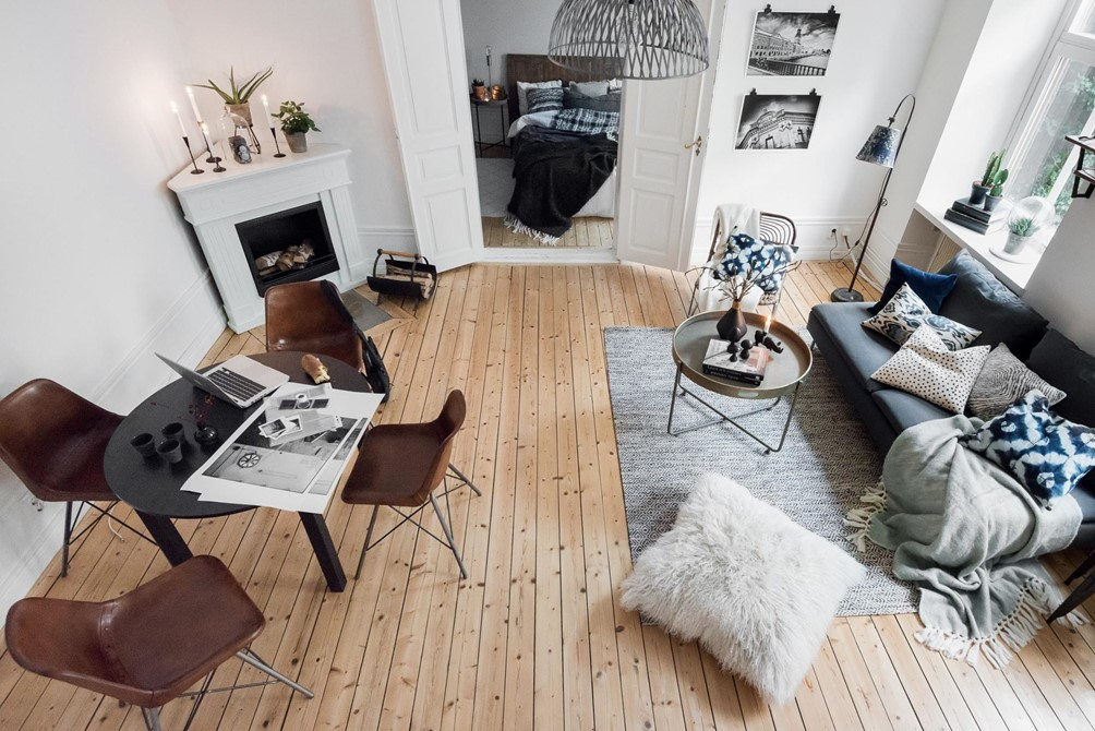 Gezellig Ingerichte Woonkamer : Gezellige herfst woonkamer met eethoek homease