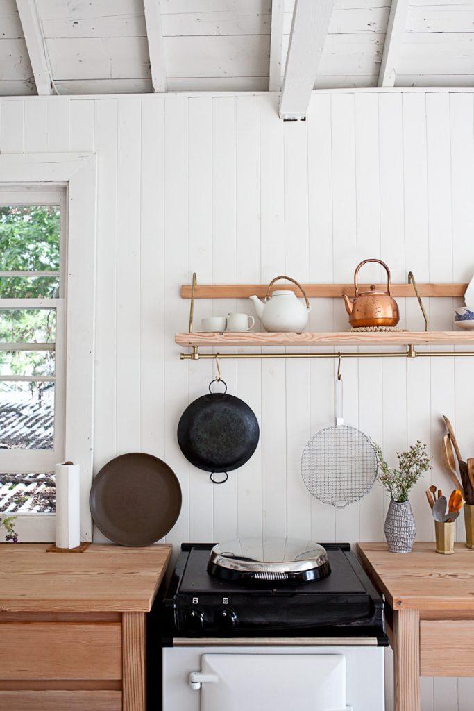 De gezellige keuken van John en Juli