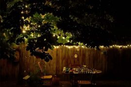 gezellige tuin inrichten