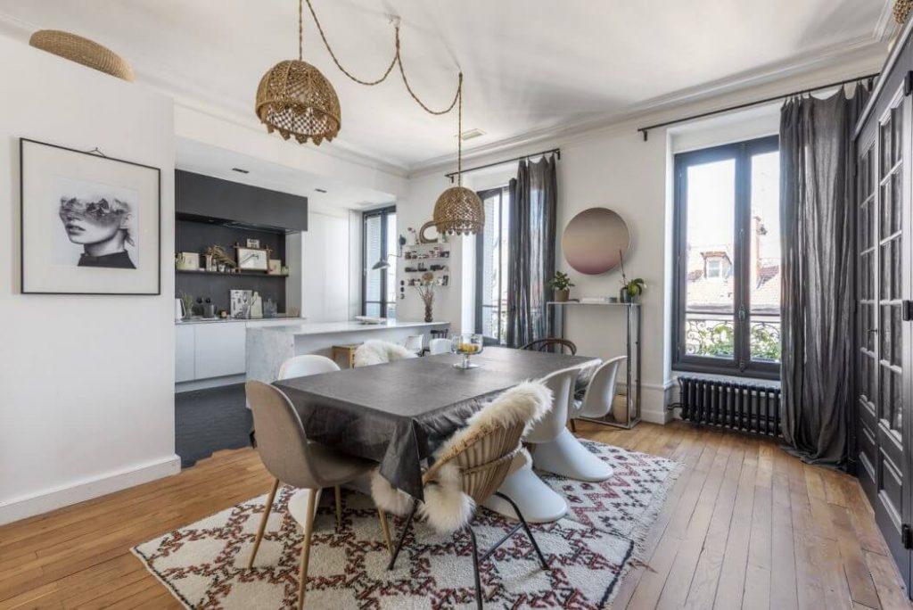 Gezellige woonkeuken uit Lyon