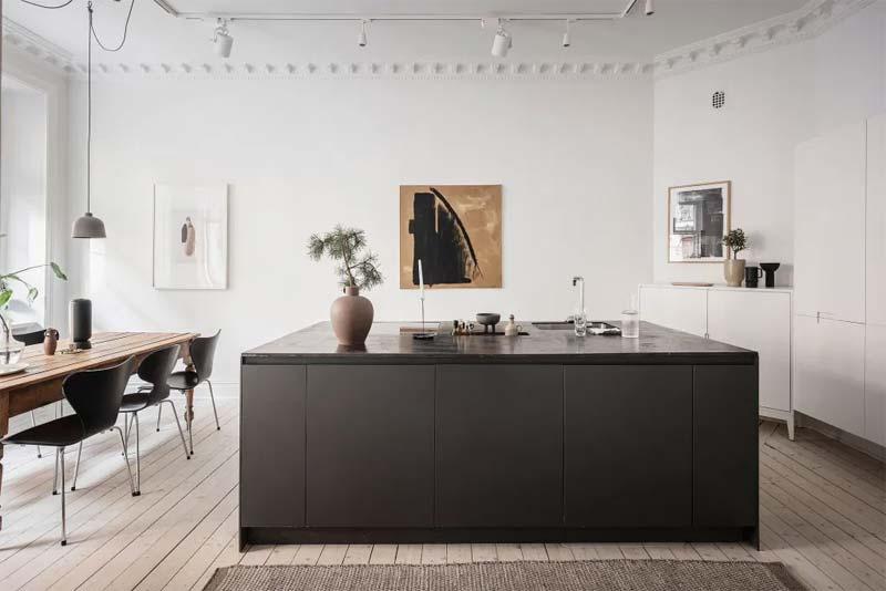 glasvezelbehang keuken