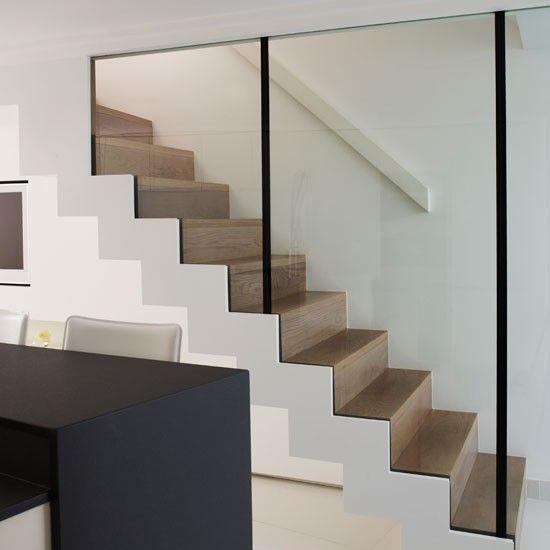 Glazen balustrade