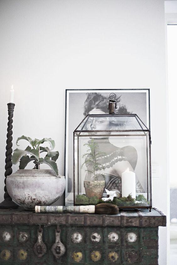 Glazen display box