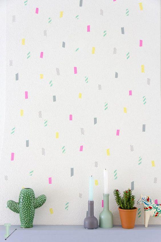 Goedkope manieren om muren te decoreren zonder verf