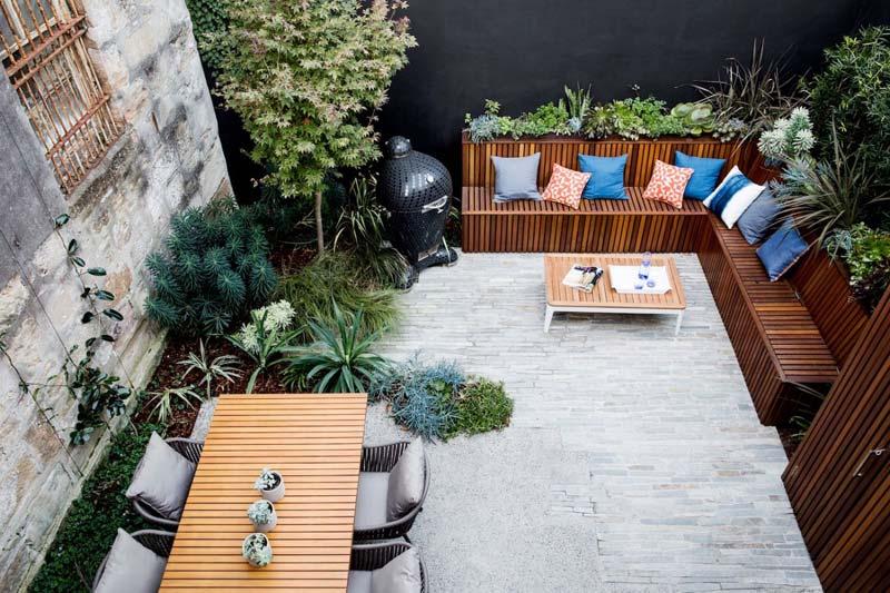 goedkope tuin makeover ideeen kussens