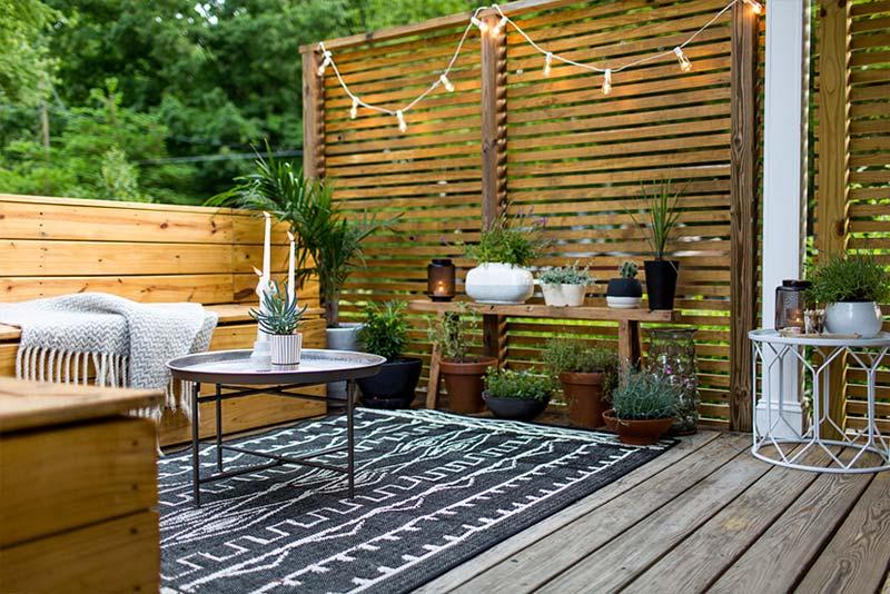 goedkope tuin makeover ideeen schoonmaken
