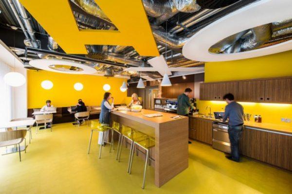 Google hoofdkantoor in Dublin