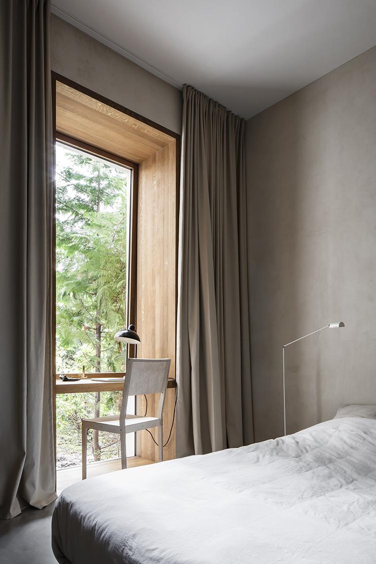 gordijnrails slaapkamer