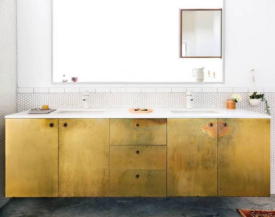 gouden-badkamermeubel