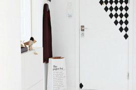 Grafische stickers voor de deur