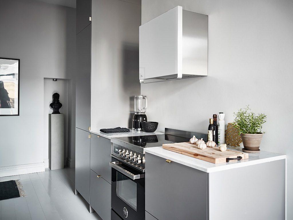 grijze-keuken-marmeren-werkblad