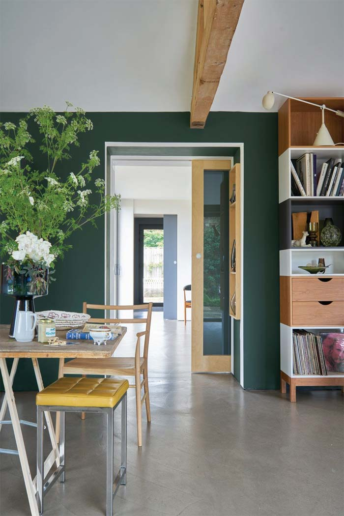 Groene muur - Farrow & Ball - Studio Green