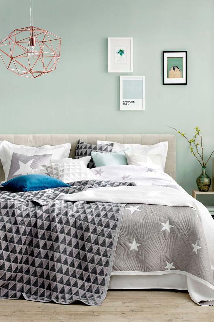 Groene muur - Flexa - Wit Eucalyptus