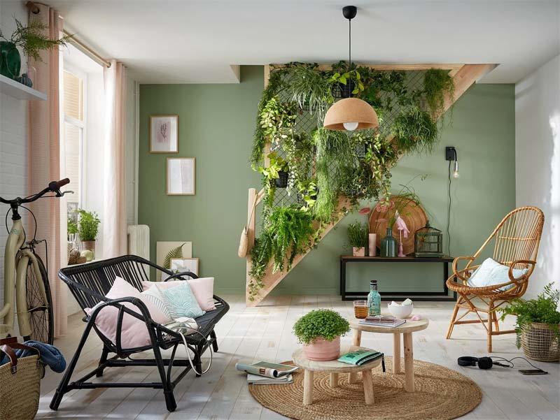 groene muur verticale tuin