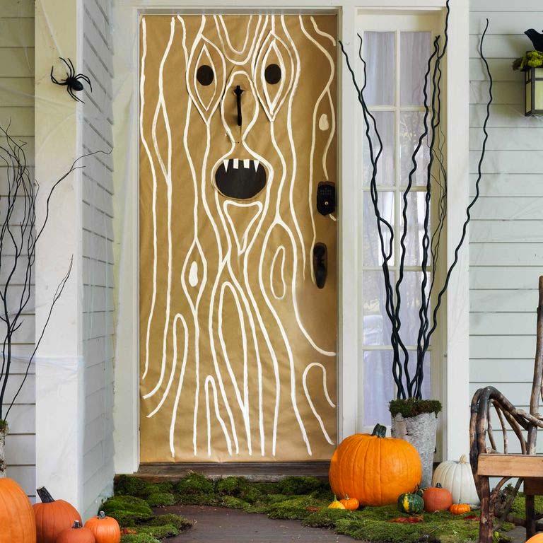 Halloween decoratie ideeën griezelige voortuin