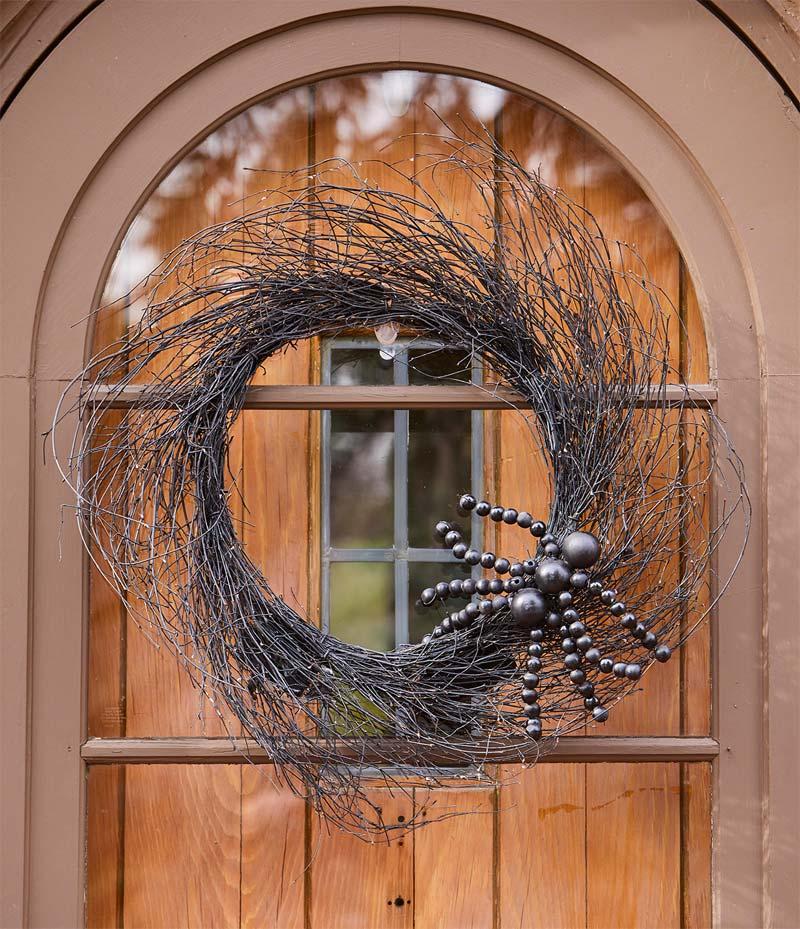 halloween decoratie ideeën krans
