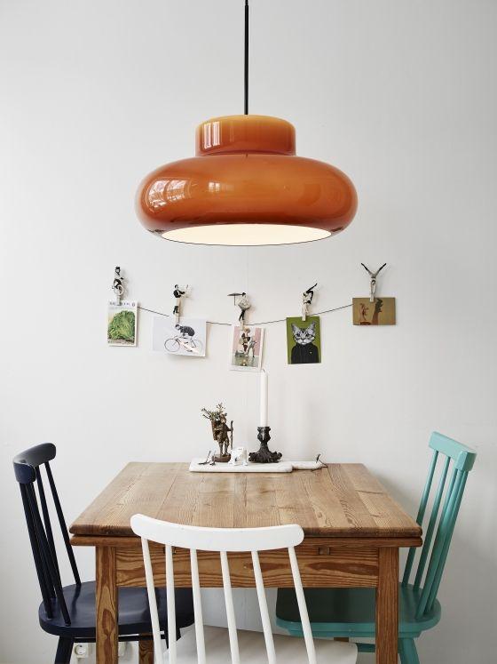 Hanglamp eettafel