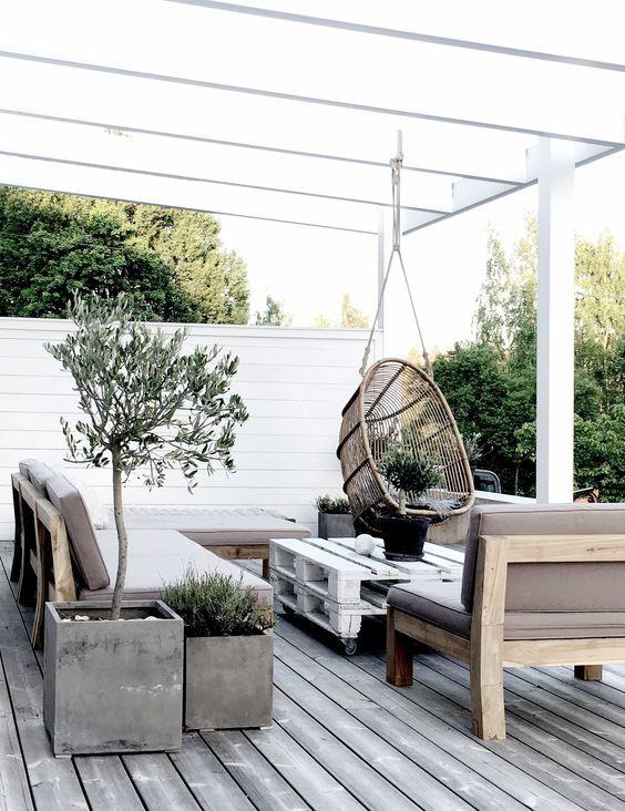Hangstoel Ophangen Aan Plafond.Hangstoel In De Tuin Homease