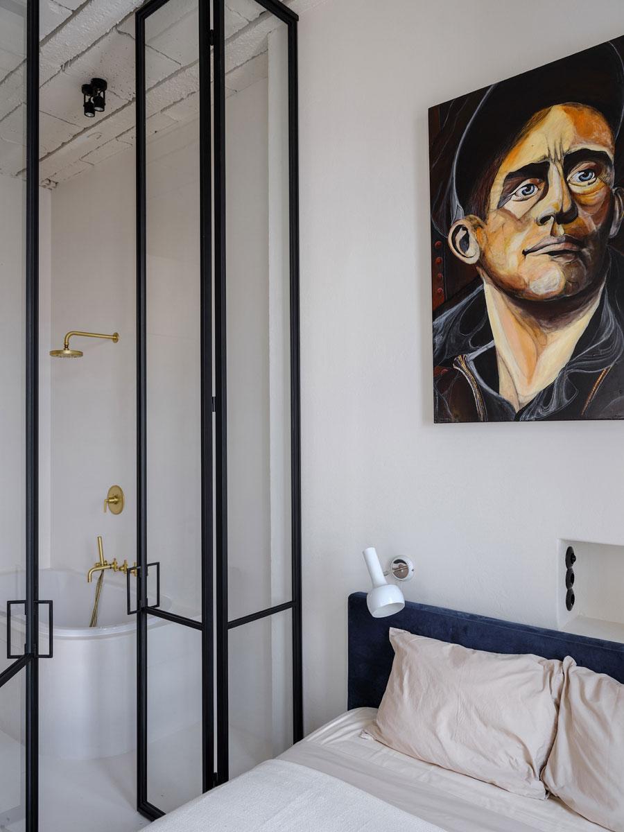 Het mooie karakteristieke vintage appartement van filmregisseur Marc Raymond Wilkins