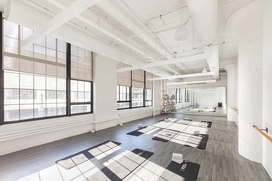 Het nieuwe Reebok hoofdkantoor in Boston