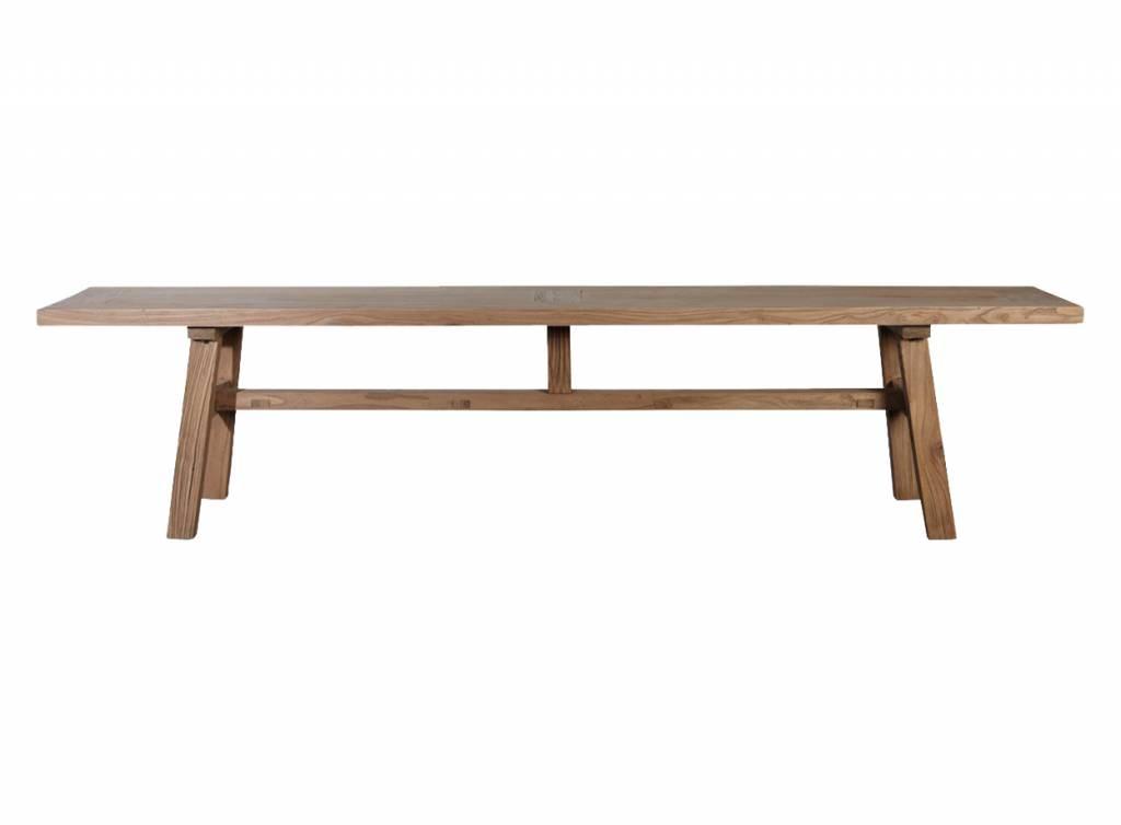 houten eettafel elm van house doctor homease. Black Bedroom Furniture Sets. Home Design Ideas