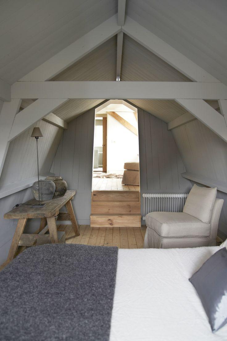 Houten balken in de slaapkamer homease - Slaapkamer met zichtbare balken ...